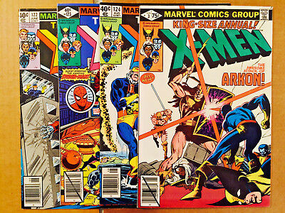 Uncanny X-Men Lot Of 4