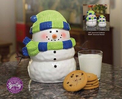Scentsy Snowman Cookie Jar - Host exclusive Hard to Find & Rare