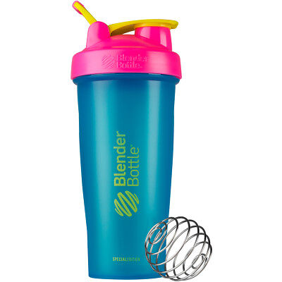 Blender Bottle Special Edition 28 oz. Shaker with Loop Top - 80s Throwback
