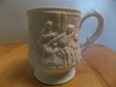 "Rouse Parian Mug Matte Finish Fine Grained  3.25"" Height"