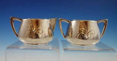 Celeste by Gorham Sterling Silver Sugar & Creamer 2pc #1343 (#2331)