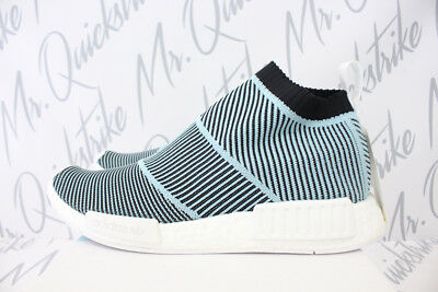a29af19ae53 Adidas Originals Nmd Cs1 Parley Primeknit 10.5 Blue Spirit Core Black Pk  Ac8597