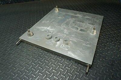 "Heat exchanger Cold / Hot Plate 19""x18""x1"" Aluminum / Stainless Steel"