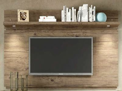 Floating Entertainment Center Rustic Wall Mounted Media 60 Inch Tv