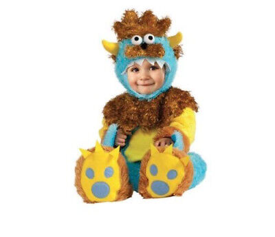 Teeny Meanie Infant Halloween Costume Size 12-18 Months Free Shipping
