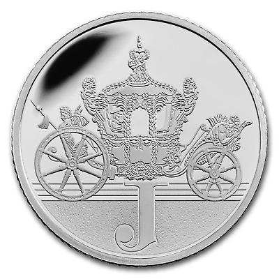 2018 Great Britain Silver 10p Great British Coin Hunt Proof (J) - SKU#163570