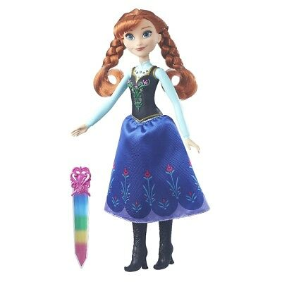 Disney Doll The Ice Queen Anna's Funkelnder kristallzauber Hasbro B6164