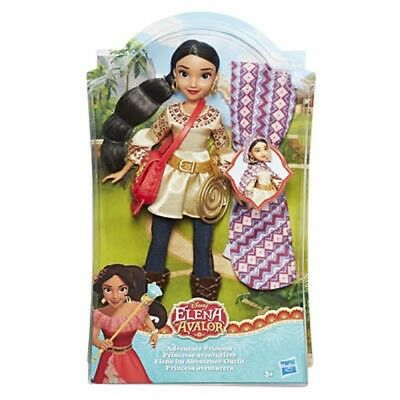 Disney Doll Elena Of Avalor in abenteuer-outfit Hasbro C0378 Doll from 3 J