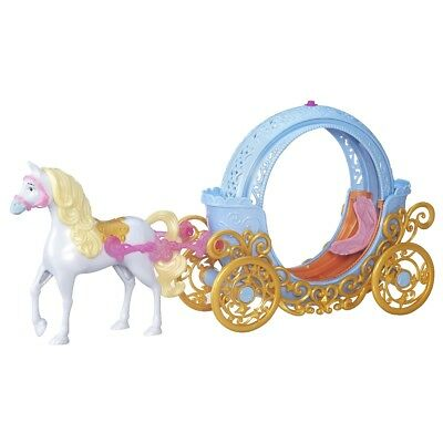 Hasbro Disney Princess Cinderellas Transformable Wagon Horses Wagon