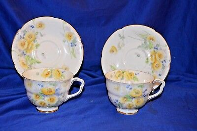 """""""Royal Doulton"""" Tea Cup and Saucer Plate -  Lot of 2 Duos Set  -"""