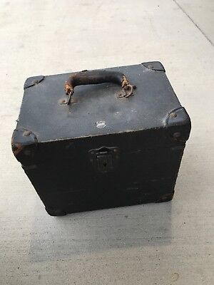 Vintage BELL & HOWELL 16mm PROJECTOR Circa 1930s  Leather Orig Case