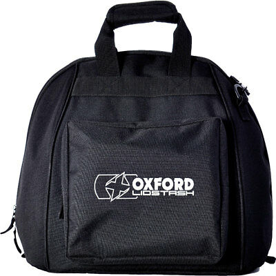 Oxford Lidstash Motorrad Motorcycle Deluxe Padded Helmet Bag With Zipped