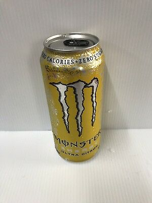 Monster Energy Drink Imported Mutant Cans **BOTTOM OPEN*** Collectors Edition