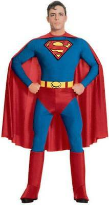 Adult Superman Super Hero Halloween Fancy Dress Cosplay Costume