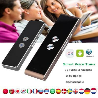 Pro 2.4G Bluetooth 30 Language Voice Smart Translator Two-Way Instant Trans