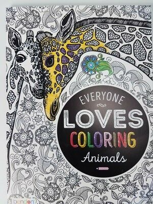 Adults Coloring Books for Stress Relief - Animals Patterns
