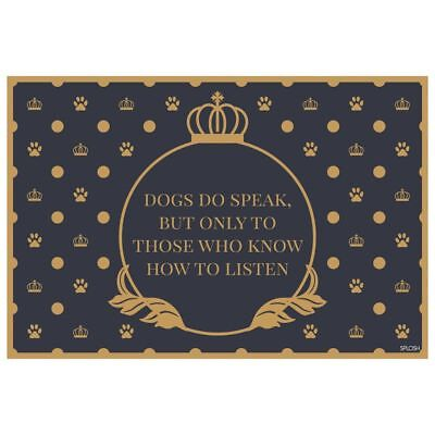Fine Dining Placemats With Various Sayings