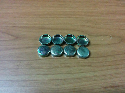 8 x 14mm - Freeze Plugs Core Plugs - CUP TYPE - Cylinder Engine Block Water Cups