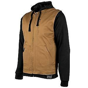 Speed & Strength Bikes Are In My Blood Mens Zip Up Hoody Brown