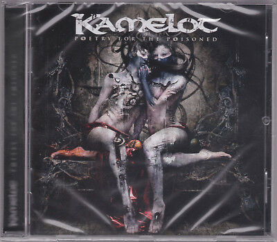 KAMELOT 2010 CD - Poetry For The Poisoned - Conception/Serenity/Avantasia - NEW