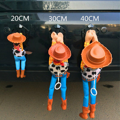 Funny Story Sherif Woody Car Doll Outside Hang Toy Cute Muneca Auto Accessories