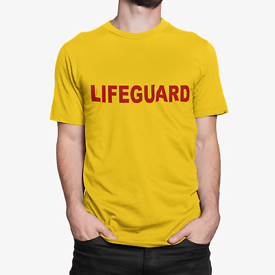 Lifeguard Fancy Dress Costume Funny T-Shirt Mens Ladies Kids sizes Available