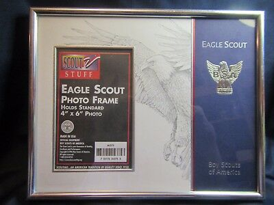 Boy Scout of America Eagle Scout Photo Frame New