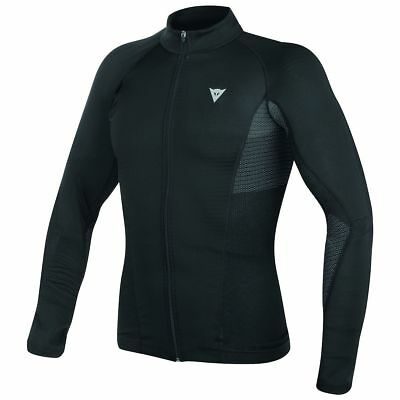 Dainese D-Core No Wind Dry Mens Long Base Layer Shirt Black/Anthracite