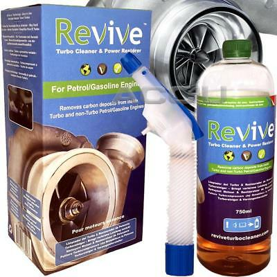 Revive Auto Benzin Dieselmotor Turbo Reiniger & Power Spray Starterset
