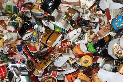 Lot of a hundred Cigar labels/ bands Old and New!!