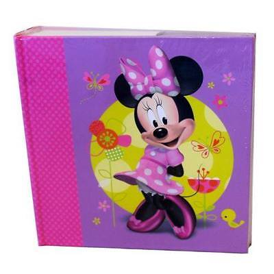 NEW DISNEY MINNIE MOUSE BOW-TIQUE GIRLS PHOTO ALBUM Great Gift