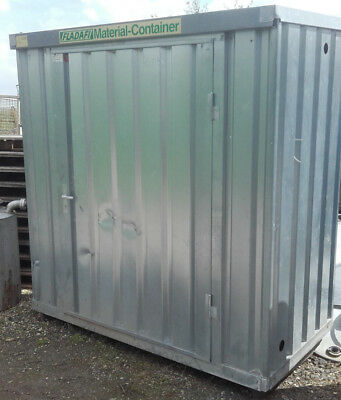 Lagercontainer Materialcontainer Marke Fladafi 2 x 1 m, gebraucht