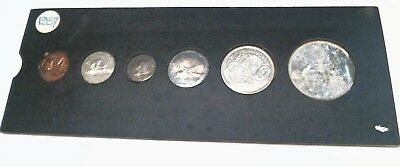 1957 Canada PL 6-Coin Set! with out Original Packaging!