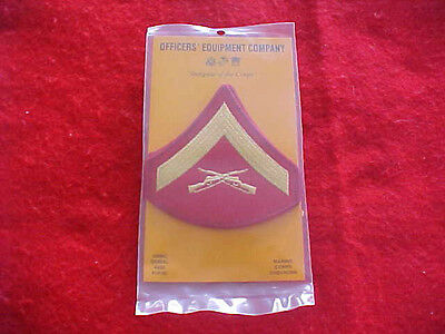 US Marine Corps - Lance Corporal Chevrons E-3 Dress for male - NEW