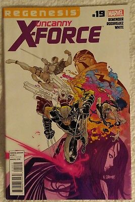 UNCANNY X-FORCE #19 by Rick Remender & Rob Rodriguez - MARVEL/DEADPOOL/WOLVERINE