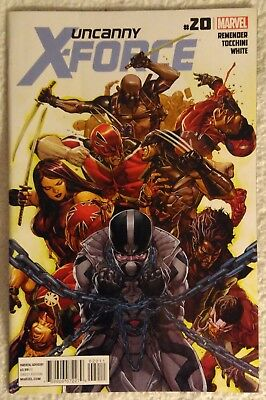 UNCANNY X-FORCE #20 by Rick Remender & Greg Tocchini - MARVEL/DEADPOOL/WOLVERINE