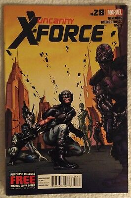 UNCANNY X-FORCE #28 by Rick Remender & Julian Totina Tedesco: DEADPOOL - MARVEL