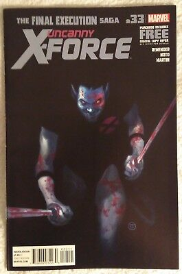 UNCANNY X-FORCE (Vol 1) #33 by Rick Remender & Phil Noto: FINAL EXECUTION/MARVEL