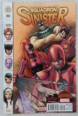 SQUADRON SINISTER (2015) #2 by Guggenheim and Pacheco - SECRET WARS/MARVEL