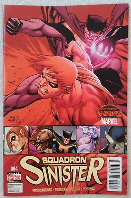 SQUADRON SINISTER (2015) #4 by Guggenheim and Pacheco - SECRET WARS/MARVEL