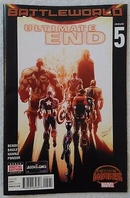 ULTIMATE END (2015) #5 by Brian Bendis & Mark Bagley - SECRET WARS/MARVEL