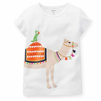 New Carter's Parrot Rides Camel Shirt Tee Top NWT 2t 3t 4t 5t 4 5 6 6x 7 8 Kid