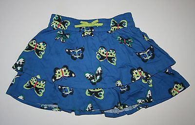New Crazy 8 Butterfly Ruffle Tiered Skort Skirt Size 5T NWT Tropical Batik Line