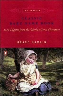 Classic Baby Name Book by Hamlin, Grace Paperback Book The Cheap Fast Free Post