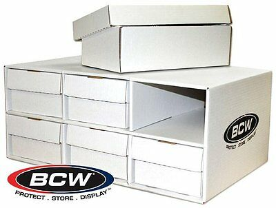 BCW Chaussure CARTE House with 6 BCW 1600 CARTE boîtes rangement Fournitures