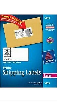avery 8160 white address labels inkjet easy peel pop up edge 1 x 2