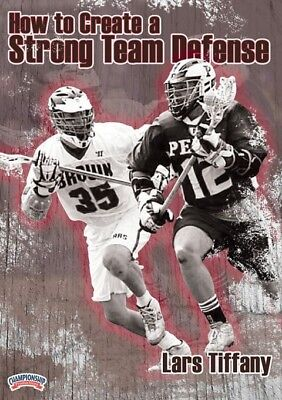 Lars Tiffany: How to Create a Strong Team Defense Lacrosse DVD