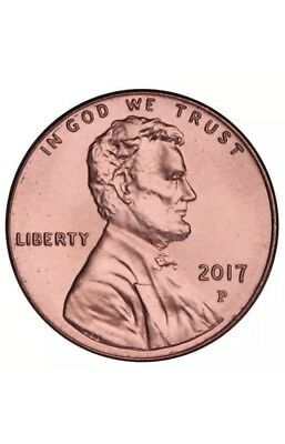 2017 P Lincoln Shield Cent