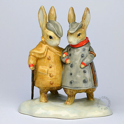 Beswick Beatrix Potter Two Gentlemen Rabbits Bp11A