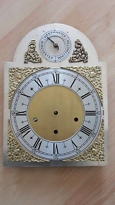 Old Brass Clock Face / Dial